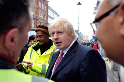 Boris Johnson on UK solar generation
