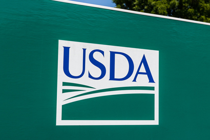 USDA logo biofuel blends