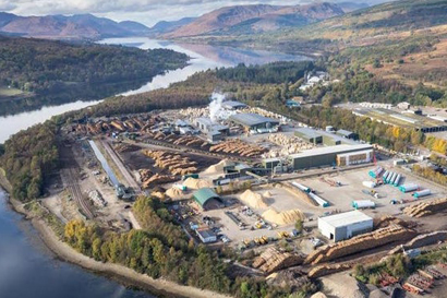 Forestry sawmill Fort William